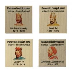 Panovníci české země - Králové Lucemburkové